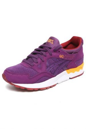 Кроссовки Asics. Цвет: фиолетовый