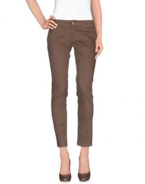 Повседневные брюки XTSY. Цвет: хаки