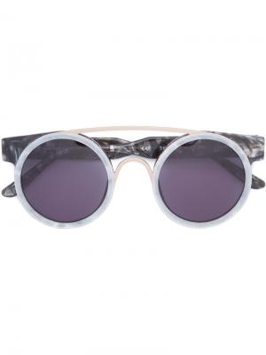 Sodapop I sunglasses Smoke X Mirrors. Цвет: серый