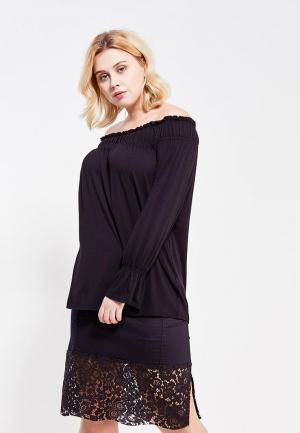 Блуза Fiorella Rubino. Цвет: черный