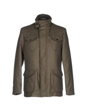 Куртка PAOLONI. Цвет: зеленый-милитари