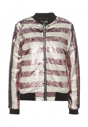 Куртка Miss by Valentina. Цвет: розовый
