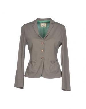 Пиджак NIU'. Цвет: зеленый-милитари