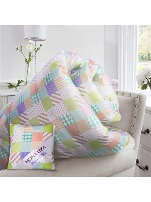 Одеяло 2 сп. Provance аромат Лаванда Mona Liza. Цвет: светло-голубой, светло-серый, сиреневый