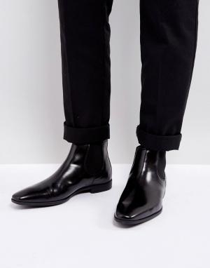 Kurt Geiger London Кожаные ботинки челси Waldock. Цвет: черный