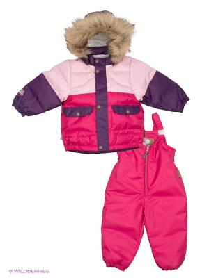 Комплект HUPPA. Цвет: фуксия, фиолетовый, бледно-розовый
