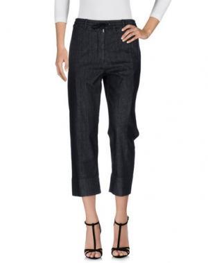 Джинсовые брюки HYDROGEN. Цвет: черный