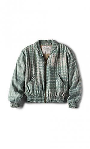 Куртка бомбер ny Acacia Swimwear. Цвет: мята