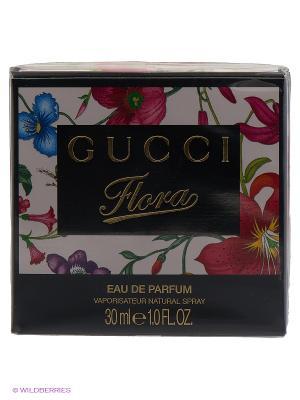Парфюмированная вода-спрей  Gucci Flora 30 мл. Цвет: прозрачный