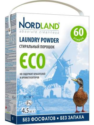 Nordland стиральный порошок  ,4,5 кг. Цвет: белый