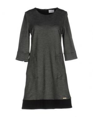 Короткое платье CONTE OF FLORENCE. Цвет: черный