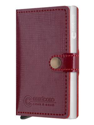 Кошельки CARDCASE. Цвет: красный
