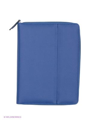Кейс-тетрадь для цифровых устройств Cross Case. Цвет: синий