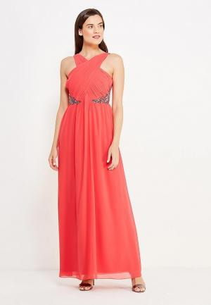 Платье Little Mistress. Цвет: коралловый