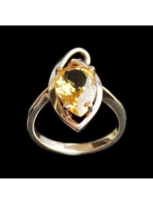 Кольцо Диковинка. Цвет: золотистый, желтый