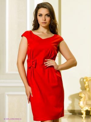 Платье Marlen. Цвет: красный