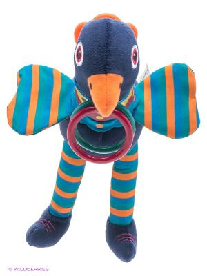Игрушка Павлин Oops. Цвет: синий, бордовый, желтый