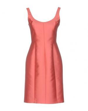 Короткое платье DICE KAYEK. Цвет: коралловый