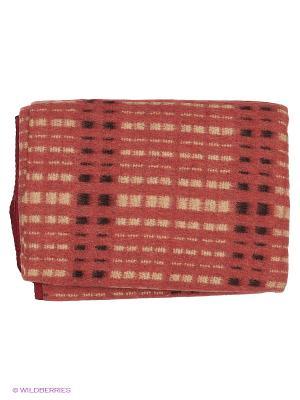 Одеяло Сукно. Цвет: красный, темно-красный, бежевый