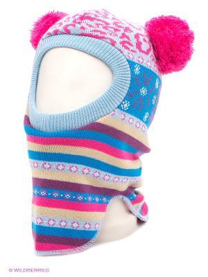 Шапка Maxval. Цвет: светло-голубой, розовый, лазурный
