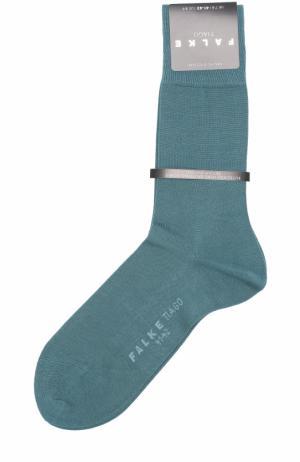 Хлопковые носки Tiago Falke. Цвет: зеленый