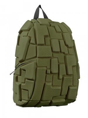 Рюкзак Blok FullGo Green MadPax. Цвет: зеленый