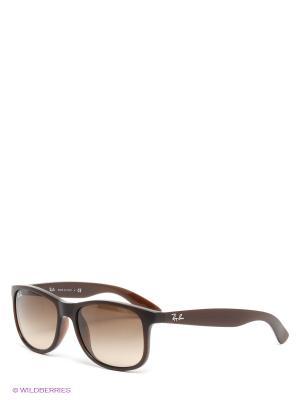 Очки солнцезащитные ANDY Ray Ban. Цвет: темно-коричневый