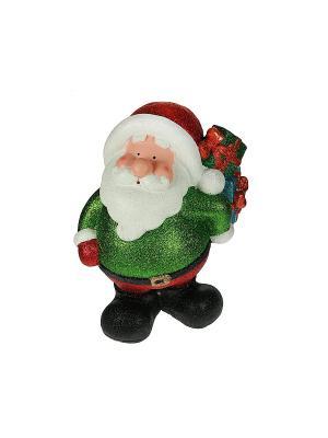 Фигурка декоративная Дед Мороз с подсветкой 29*19*39см (уп.1/2шт.) Русские подарки. Цвет: красный, белый, зеленый