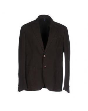 Пиджак DOMENICO TAGLIENTE. Цвет: темно-коричневый