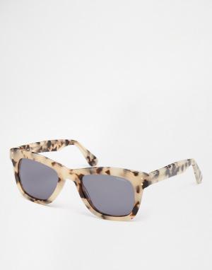 Komono Солнцезащитные очки Allen. Цвет: коричневый