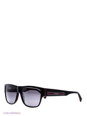 Очки солнцезащитные BLD 1511 103 Baldinini. Цвет: черный, бордовый
