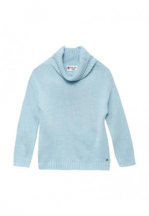 Свитер Button Blue. Цвет: голубой