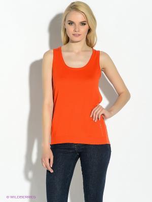 Топ GUESS. Цвет: оранжевый