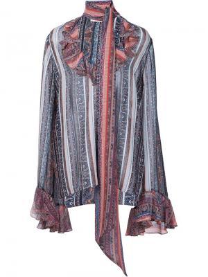 Блузка с принтом пейсли Rodarte. Цвет: многоцветный