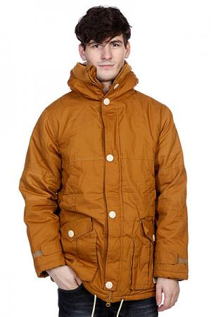 Куртка зимняя True Spin Soldier Brown TrueSpin. Цвет: коричневый