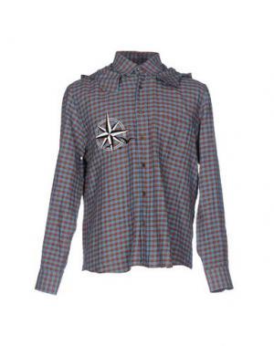 Pубашка UMIT BENAN. Цвет: коричневый
