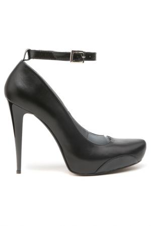 Туфли ATWA Collection. Цвет: черный