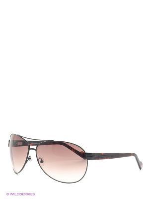 Солнцезащитные очки IS 11-129 01 Enni Marco. Цвет: коричневый, черный