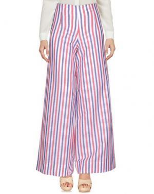 Повседневные брюки CRISTINA ROCCA. Цвет: красный