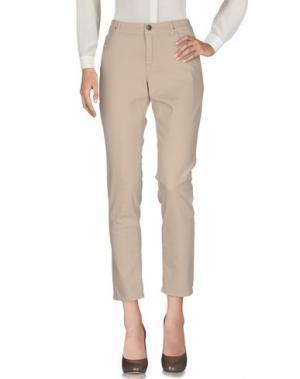 Повседневные брюки MARC CAIN. Цвет: бежевый