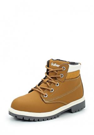 Ботинки Gulliver. Цвет: коричневый