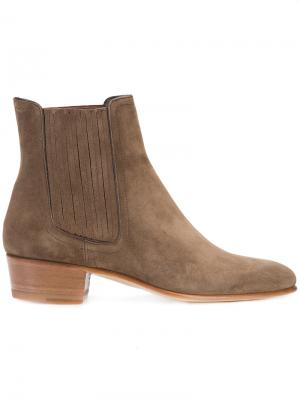 Ankle boots Louis Leeman. Цвет: коричневый