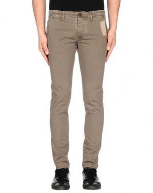 Повседневные брюки REIGN. Цвет: хаки