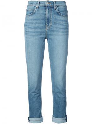 Укороченные джинсы Proenza Schouler. Цвет: синий