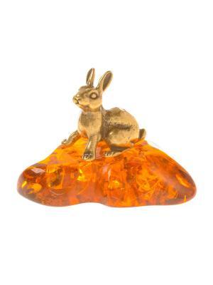 Фигура Заяц маленький Aztek. Цвет: желтый, коричневый, светло-оранжевый