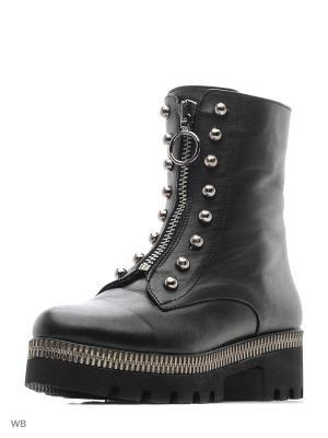 Ботинки Alsace. Цвет: черный