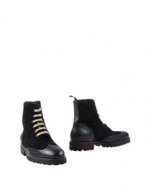Полусапоги и высокие ботинки SWAMP. Цвет: черный