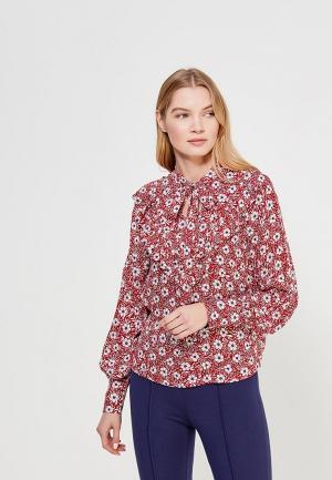 Блуза Mango. Цвет: красный