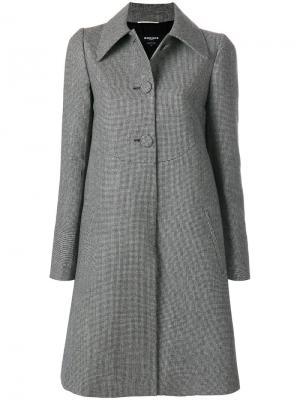 Однобортное пальто  Rochas ROWL105301RL21090312308975
