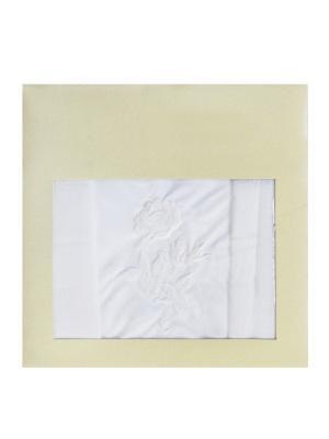 Платки носовые ZLATA KORUNKA. Цвет: белый, сиреневый